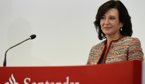 Arise Dame Ana Botin! Santander chief awarded honours by Queen