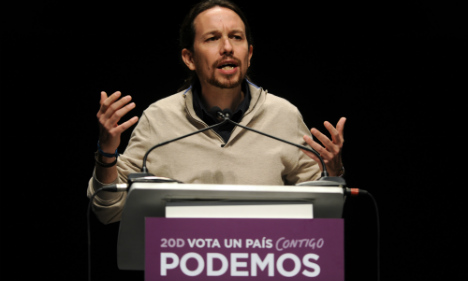 Podemos brings 'indignados' to the doors of Spain's parliament