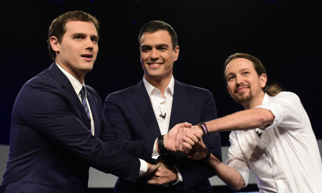 Spain's gaffe prone Prime Minister spurns first pre-election debate
