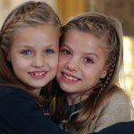 Spain's little princesses star in oh-so-cute royal family Christmas card