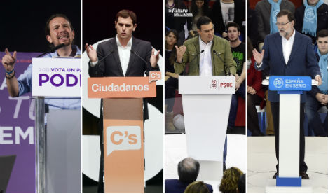 Spain's voters head to ballot boxes in 'tectonic shift' general election