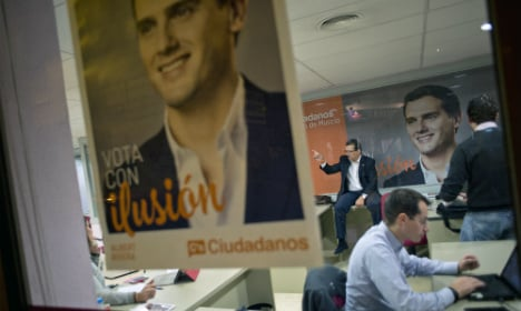 Centrist  party shakes up Spanish politics with social media army