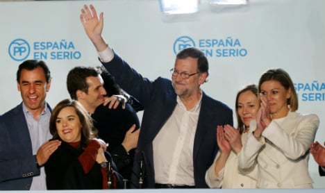 Rajoy will first try to form govt but deadlock could see new elections