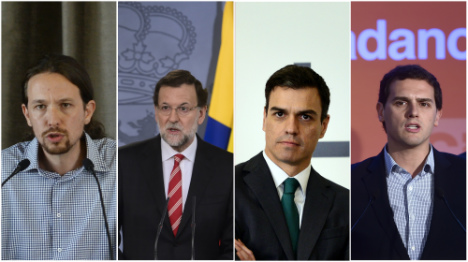Spanish general election: the key players