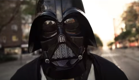 Darth Vader leaves the Dark Side to join Spanish election campaign