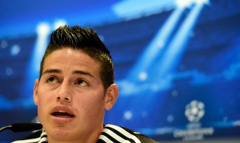 Madrid star, Rodriguez, 'was doing 200km an hour on motorway'