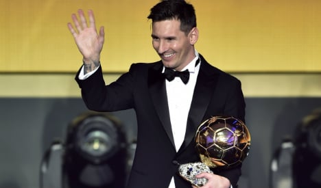 Move over Ronaldo: Messi back on top of world with fifth Ballon D'Or