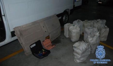 Spain busts Anglo-Dutch drug gang seizing three tonnes of cocaine