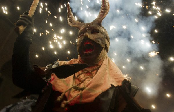 What the devil! This is Spain's most explosive festival