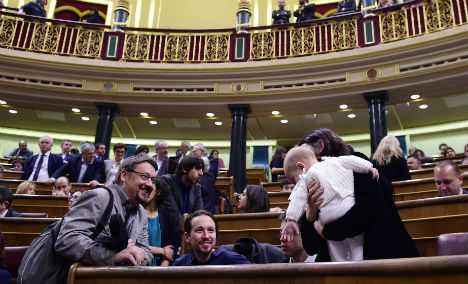 Younger, scruffier, and with a babe in arms: This is Spain's new elite