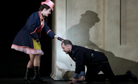No sex please, we're German: Spain stages Wagner comedy