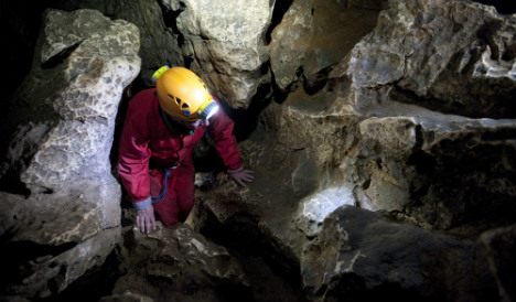 Spanish potholers trapped in French cave found alive