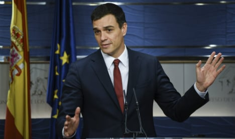 March 2nd: Socialist chief to seek approval to lead Spain