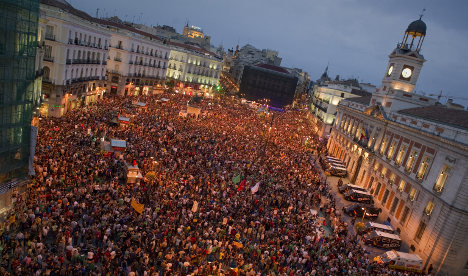 Spain's radical protesters to be commemorated in Madrid
