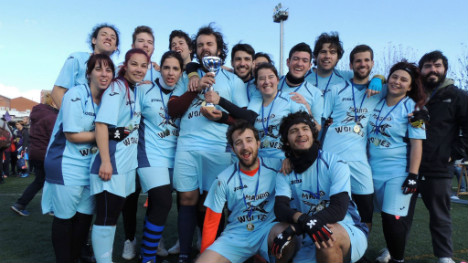 Madrid casts winning spell in Spain's real life quidditch cup