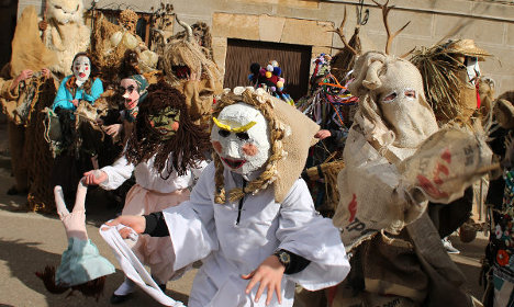 Wacky and whimsical: Spain goes carnival crazy
