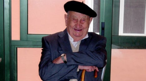 Secret to long life? Spaniard lived to 107 on 'red wine diet'