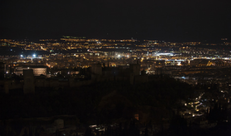 Spain turns off the lights for Global Earth Hour