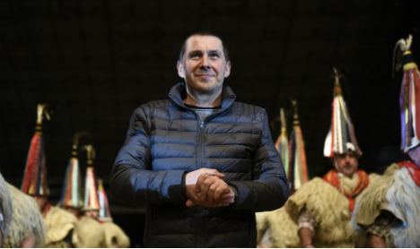 Basque leader given a hero's welcome on release from jail