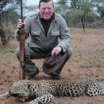 Spanish celeb causes outrage over photo with dead leopard