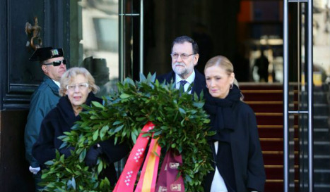 'We won't forget you': Madrid mourns victims of train bombs