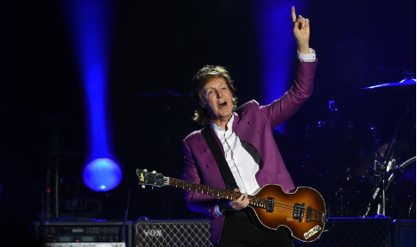 Paul McCartney to play Madrid concert in new world tour