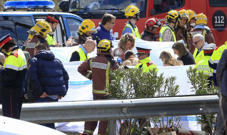 13 killed as bus carrying students crashes in Spain