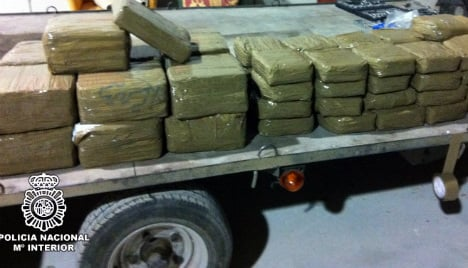 Spanish police smash Russia drugs smuggling ring