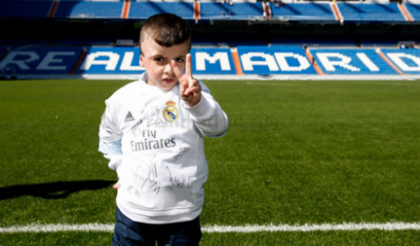 Real Madrid dream comes true for Palestinian fireball orphan