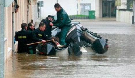 Hundreds evacuated from homes as floods hit Spain