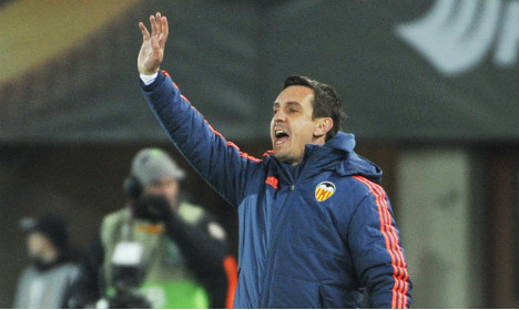 Adios! Valencia sacks Gary Neville after just four months
