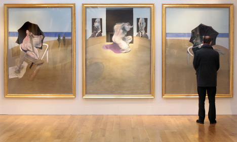 Five Francis Bacon paintings snatched in Madrid heist