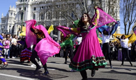 Madrid welcomes Indian stars with Bollywood flash mob