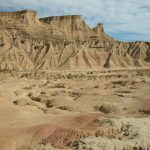 BARDENAS REALES NATURAL PARK: The semi-desert natural park in Navarra, renowned for its unusual rock formations, will form the backdrop for Queen Daenerys Targaryen, played by Emilia Clarke, to ride through on horseback. Photo: Bruno Barral/Wikimedia