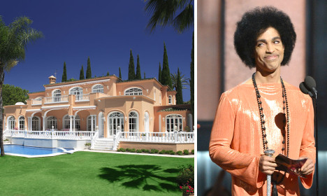 Prince's Costa del Sol villa could be yours for just €5.3m