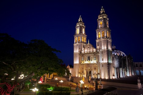 The Cathedral of Campeche. Photo: Jiuguang Wang/Flickr