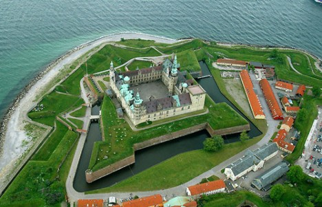 The couple will be the first to stay at Kronborg in 100 years. Photo: Dr.Splif/Wikipedia