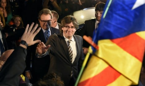 Catalan leader rules out independence during mandate