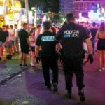 Ibiza bans drinking in street…  and that includes water