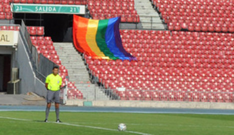 'I'm the only referee who has come out of the closet'