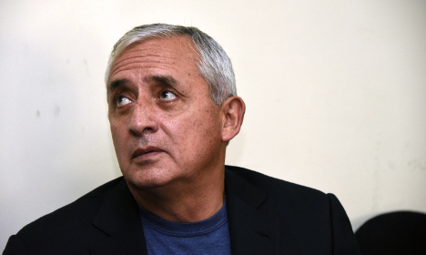Guatemalan ex-president tied to Spain corruption case