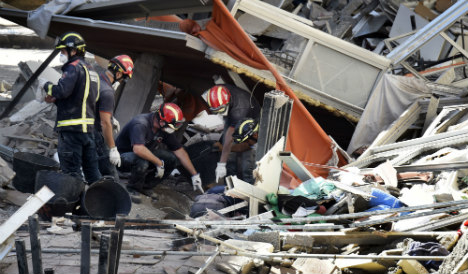 Death toll rises to seven in Tenerife building collapse