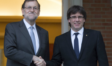 Finally Spanish PM meets with Catalan separatist leader