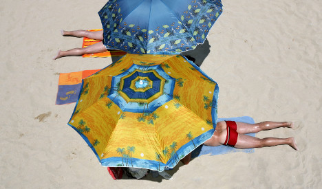 Beach hogger fined in Spain for saving spot with umbrella