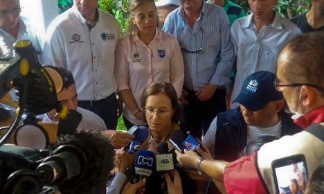 Colombia rebels free Spanish journalist