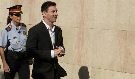 'I never look at what I sign,' admits Messi in fraud case