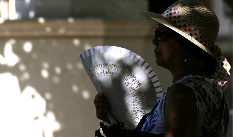 Spain sizzles as temperatures soar across the country