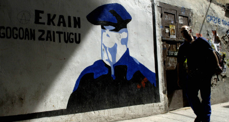 ETA member arrested by Swiss claims torture in Spain