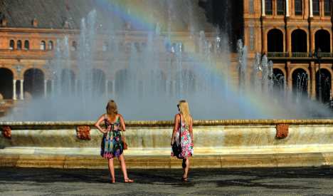 Spain cools off with brief respite from the summer heat