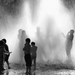 <b>Find a fountain</b>: While we do not necessarily condone jumping into fountains, you can find some cooling spray from one of these monuments that are often dotted all over towns and cities. Photo: Peter Roome/Flickr